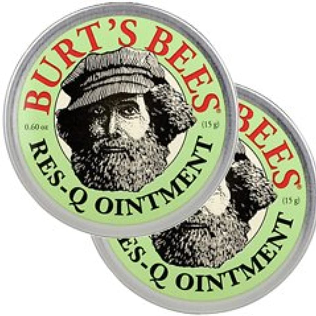 エージェント脅迫レトルトバーツビーズ(Burt's Bees)レスキュー オイントメント 17g 2個セット[並行輸入品][海外直送品]