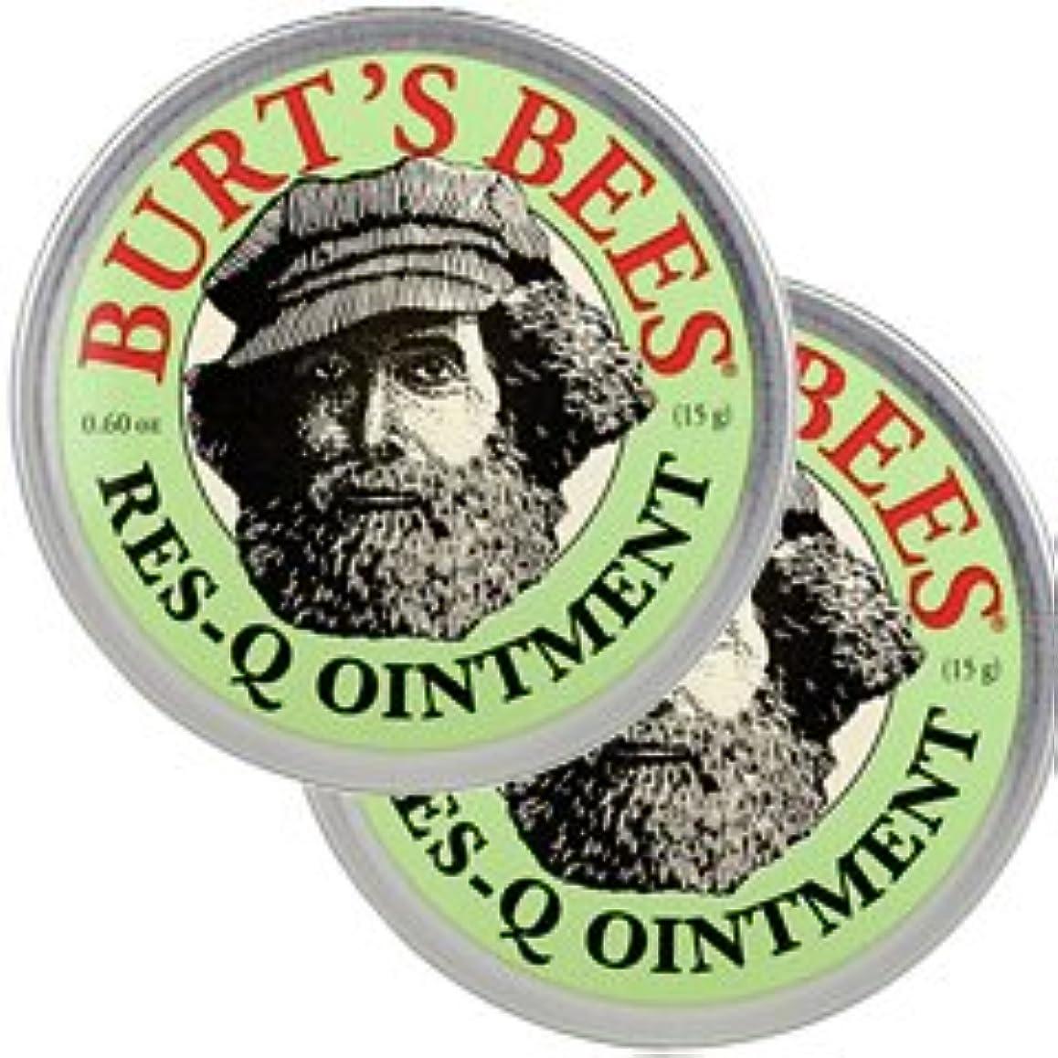 シャッフル農奴圧縮するバーツビーズ(Burt's Bees)レスキュー オイントメント 17g 2個セット[並行輸入品][海外直送品]
