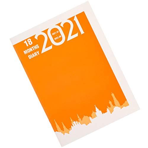 NUOBESTY 2021 Notebook Planner Maandelijkse Wekelijkse Dagelijkse Planning Boek Academische Kalender Planner Tijdbeheer…