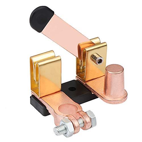 WiMas 12V 24V Batterie Trenner Trennschalter, Batteriehauptschalter, Batterietrennschalter, Messerschalter für Universal Auto Car RV Fahrzeuge