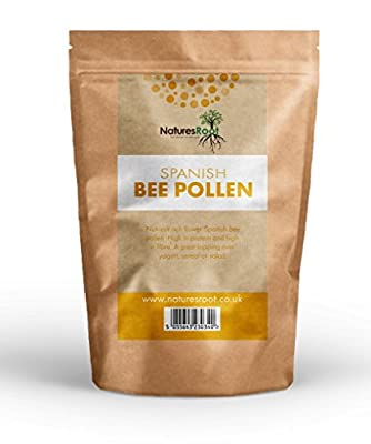 Spanish Bee Pollen Granules 125g by Natures Root - Premium Quality | Rich in NUTRIENTS | SUPERFOOD