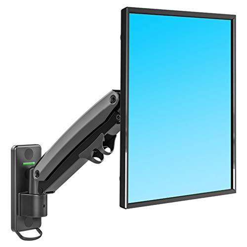 JFSKD Monitor Tischhalterung für 27-45 Zoll-LED-LCD-Bildschirme, Einstellbarer neigbarer und schwenkbarer Monitore Bildschirm Halterung