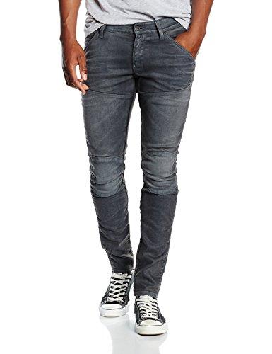 G-STAR RAW Herren 5620 Elwood 3D Skinny Jeans, Grau (dk Aged Cobler 7863-3143), 36W / 34L