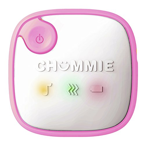 Chummie Elite Bedwetting Alarm for Children and Deep Sleepers – Award Winning Bedwetting Alarm System with Loud Sounds and Strong Vibrations, Pink