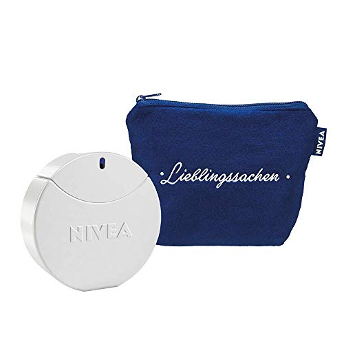 NIVEA Creme Eau de Toilette Set für Damen, EdT 30 ml Pflege-Duft in Parfum-Flakon und NIVEA Dose, inklusive Beautybag, 1er Pack