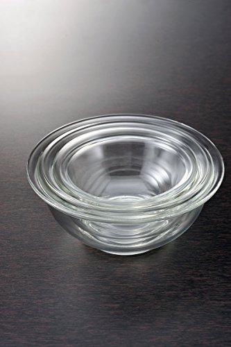 iwakiイワキ耐熱ガラスベーシックボウル3種セット大中小1500ml・900ml・500mlKSKC-BO-33個セット