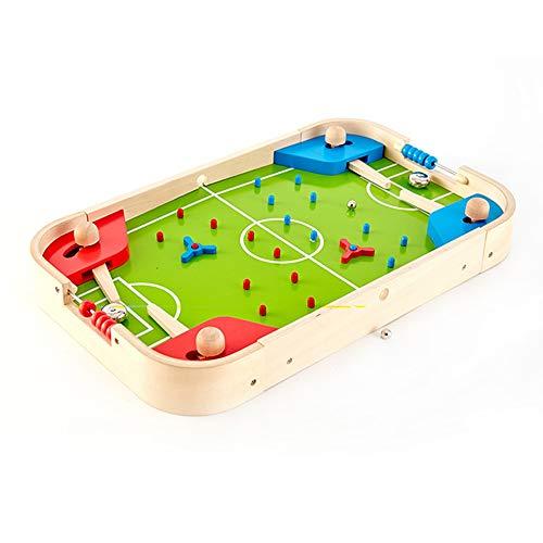 SYXX Kinder Tabletop Desktop-Fußball, Kinder Tabletop Pinball Toy Spieltisch, Hand Fußball, Tischfußball Maschine Brettspiel, Geeignet for Kinder 3-6 Jahre alt Erwachsene Kinder Sport-Spiele