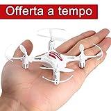 FPVRC K8 Mini RC Quadcopter Drone 2.4G 4CH 4 Aixs Modalità Senza Testa...