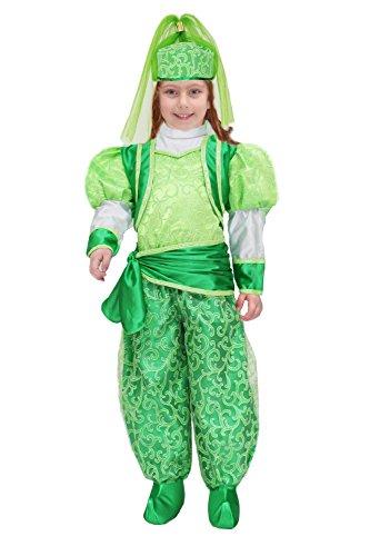 Pegasus Disfraz de mscara de carnaval Baby  Otalca verde  Talla 5/6 aos  88 cm