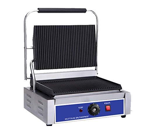 L.TSA Tostadora Comercial de Cocina Fabricante de Sandwic Panini Presstoast Tostadora Máquina eléctrica y de Gas
