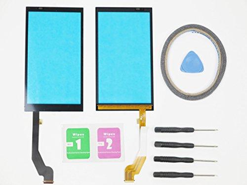 JRLinco Für HTC Desire 816 Glas Bildschirm Display Touchscreen Ersatzteil ( Ohne LCD ) Outer Glass Replacement + Werkzeuge & doppelseitigen Kleber + Reiniger Paket (Für HTC Desire 816, schwarz)