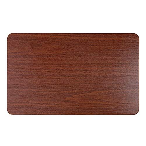 HH- Beistelltisch/Kaffeetisch Folding Bodenträger, Heavy Duty Wandklapptisch Mit Triangel DIY Halter Scharnier for Tischarbeitstisch - Brown (Size : L60×W36cm)