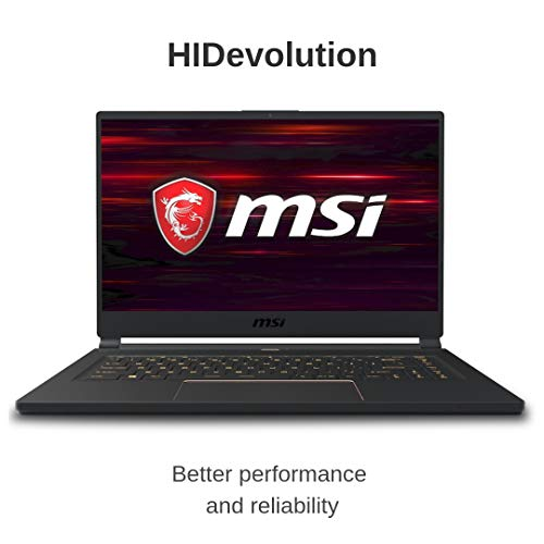 Compare HIDevolution MSI GS65 9SE Stealth (MS-GS65483-HID5-US) vs other laptops