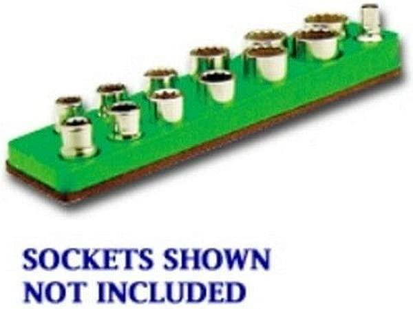 3 8 In Drive Magnetic Neon Green Socket Holder 5 5 22mm MTS718 V08534