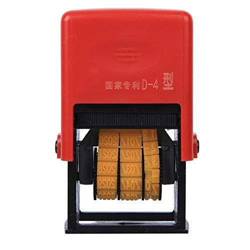 Herramienta de Impresora de Fecha de máquina de codificación Ajustable Tipo D-4 para impresión de Fecha
