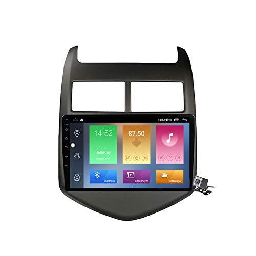 Gokiu Android 10 2 DIN Radio De Coche Navegacion GPS para Chevrolet Aveo 2 2011-2015 Soporte 5G WiFi DSP/FM Am RDS Radio de Coche Estéreo Carplay Android Auto/Bluetooth SWC,M500