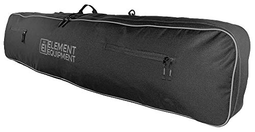 Element Equipment Snowboard Bag with Shoulder Strap and Gear Pockets 148 Black/Grey