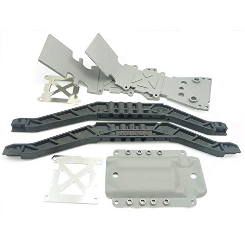 Traxxas T-Maxx 3.3SKID PLATES & CHASSIS BRACES Lower