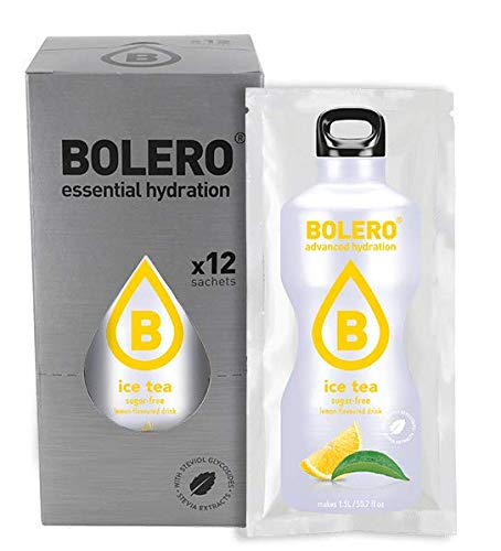 Bolero Drinks Ice Tea Lemon 12 x 8g