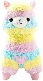 Cuddly Llama Rainbow Alpaca Doll 7