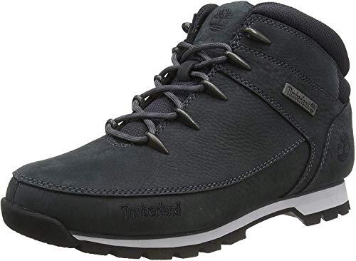 Timberland Mens Euro Sprint Outdoor Walking Trekking Ankle Hiking Boot - Dark Gray - 8.5
