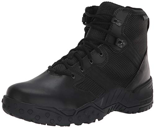 """Danner Men's Scorch Side-Zip 6"""" Military and Tactical Boot, Black, 8 D US"""