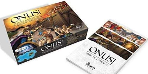 Draco Ideas- Onus Expansion: Terrain & Fortresses + campaigns Book (Ingles) Juego de Mesa (BGONUSTERRI)