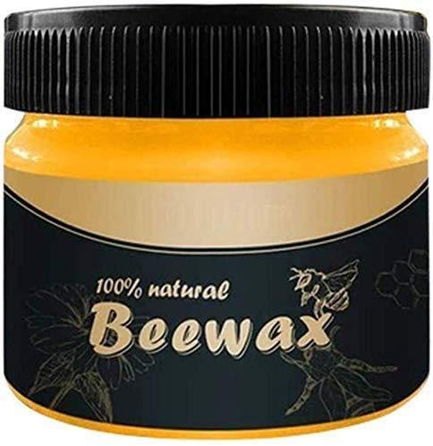 Holzgewürz Beewax, traditionelles Bienenwachs-Poliermittel für Holz und Möbel, Allzweck-Bienenwachs für Holzreiniger und polnische Tücher - Möbelpflege Mehrzweck-Naturbienenwachs, kein Aufbau