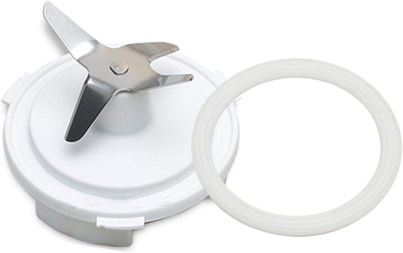 WLLOVE La Cuchilla mezcladora de Las Piezas de la Mezcla de 1set Incluye el Ajuste del Anillo de Sellado para Philips HR2874 HR2870 HR2872 HR2850 Accesorios de Las Partes de la licuadora