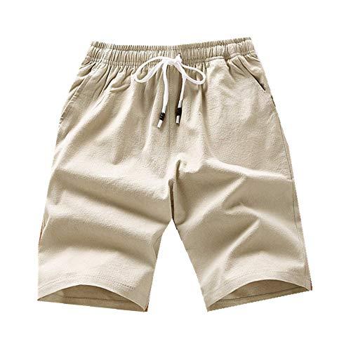 N\P Pantalones cortos de los hombres de los hombres pantalones cortos deportivos impresos rectos pantalones de playa