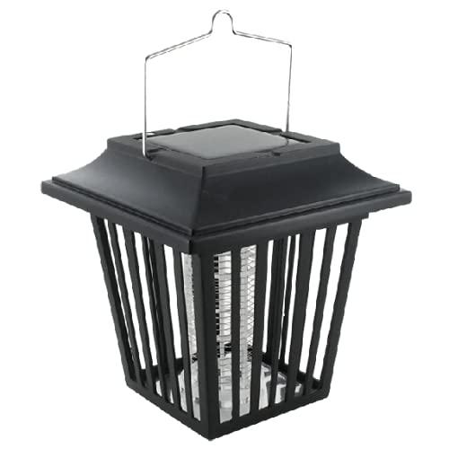 WEITECH Multifunktions-Solarlaterne avec LED UV Exterminateur D'Insectes - Noir