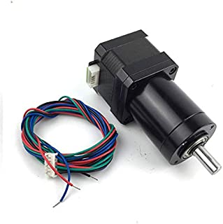 2 phase 4 wire Gear ratio 100:1 Planetary Gearbox stepper motor Nema 17 1.2A Geared Stepper Motor 3d printer stepper motor
