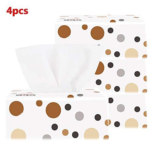 4 pakken papier, servet Comfort Care Septic-Safe Toiletpapier, 3-Ply Paper Doux, Sans Produits Chimiques Agressifs