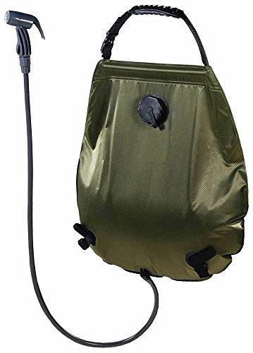 MFH douche solaire Deluxe env. 20L avec thermomètre douche de camping douche de jardin