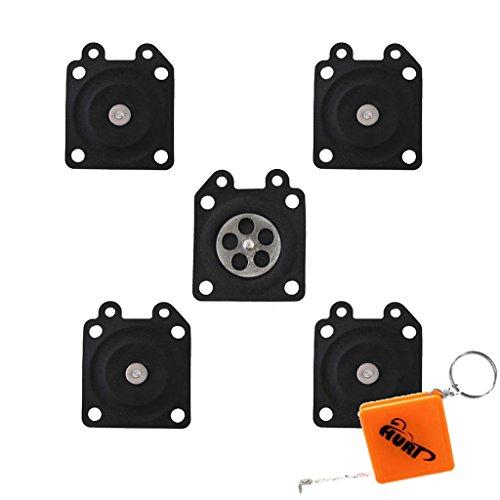 Huri 5x Kit membrana per carburatore per Walbro WA & WT, Stihl, Echo, Husqvarna