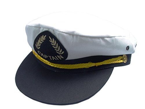 Captain's 56cm Yachting / Boating Peaked Cap