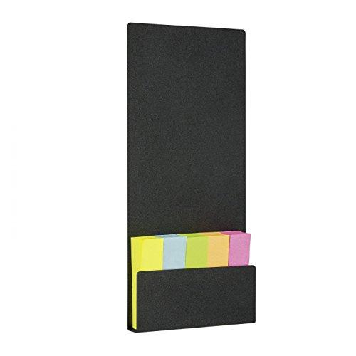 Bildschirmpinnwand mit Notizzetteln, Schreibtischpinnwand, Minipinnwand mit Notizen, Magnettafel