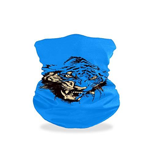 Asiga Collo Ghetta Faccia Sciarpa Maschera-Polvere, Passamontagna Donna Bandana Art Vector Minimalismo
