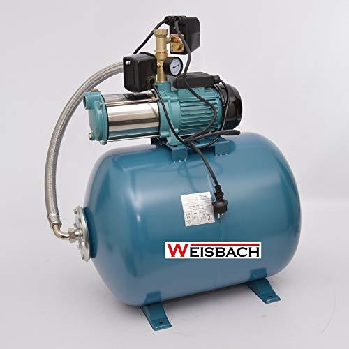 Hauswasserwerk 100 Liter 8-stufige Pumpe MHI1500 INOX + Trockenlaufschutz SK-13