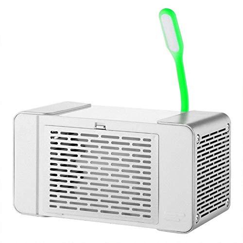 Schreibtischventilatoren, tragbarer Luftkühler Klimaanlagenventilator USB Tragbarer persönlicher Raumluftkühler Mini Leafless Klimaanlagenventilator Tischlampe Ultra Leise für Büro, Schlafsaal, Außen