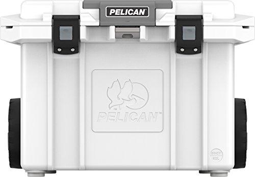 Pelican Elite 55 Quart Wheeled Cooler (White)