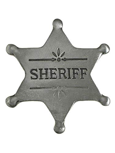 Anstecker Pin Sheriffstern Sheriff Historische Nachbildung Made in USA Western Country