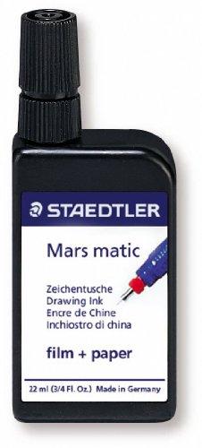 Staedtler 745 M2-9 Mars matic Zeichentusche 2-Medien-Tusche, 22ml, schwarz