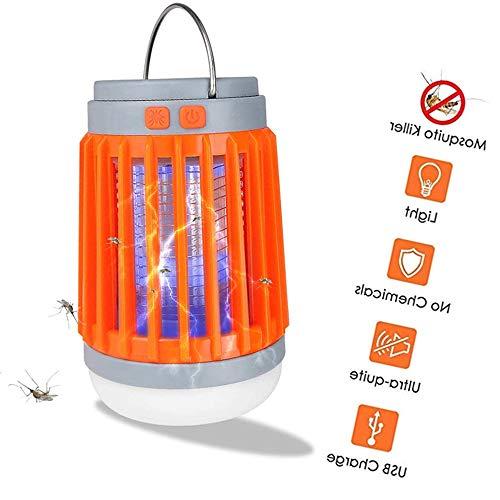 Bug Zapper Luce, zanzara lampada UV Insetti Trappola Portable 2 in 1 Mosquito Zapper Tenda Luce di campeggio della lanterna della zanzara assassino di campeggio esterna al coperto,Ordinary models