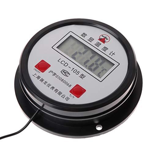 Dchaochao LCD-Display-Digital-Thermometer für Hochtemperatur-Industrie-Wasserkocher 10M-Draht mit Sonde