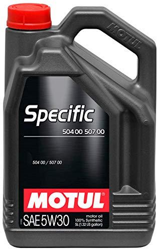 Motul Specific VW 504 00 & 507 00 5W-30 volledig synthetische auto motorolie - 5 liter