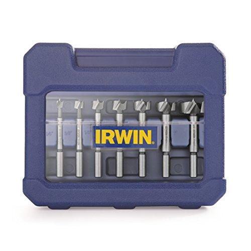 IRWIN Marples Forstner Bit Set, Wood Drilling, 8 Piece (1966892)