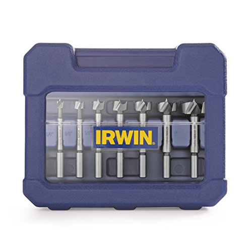 IRWIN Marples Forstner Bit Set, Wood Drilling, 8 Piece (1966892)