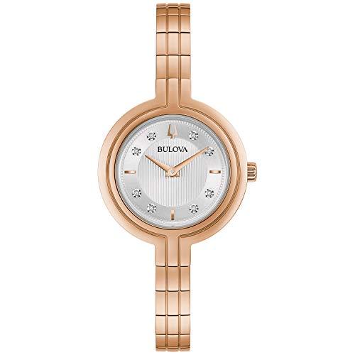 Bulova Reloj de vestir (Modelo: 97P145)