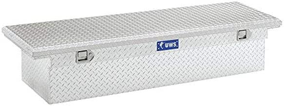 UWS EC10451 69-Inch Heavy-Wall Aluminum Truck Tool Box with Low Profile, RigidCore Lid